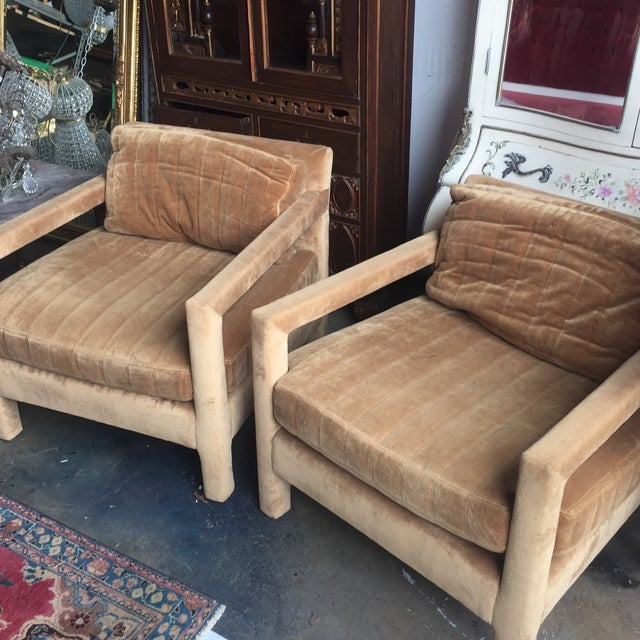 Henredon Upholstered Chairs - A Pair - Image 5 of 6