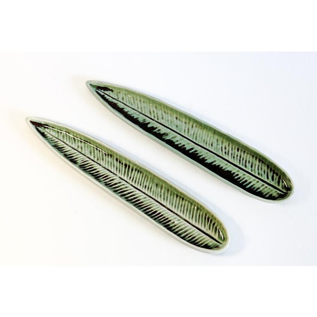 Image of Leaf Chop Stick Holders - A Pair