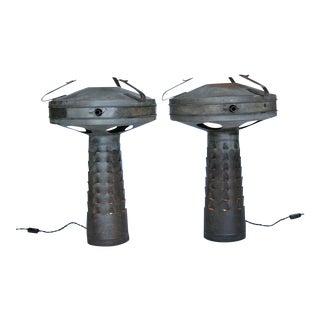 Vintage Smudge Lamps