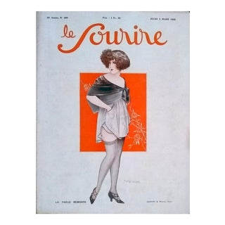 """Maurice Pepin """"La Taille Remote"""" Le Sourire Cover Print"""