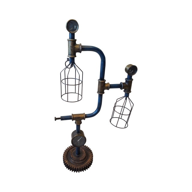 Industrial Inspired Lamp - Image 1 of 3