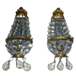 Murano Wall Sconces - Pair