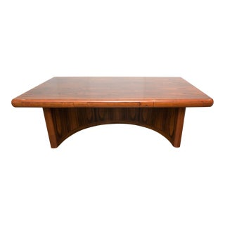 Dyrlund Rosewood Skyline Executive Desk