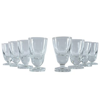 Petite French Vintage Glasses - Set of 8