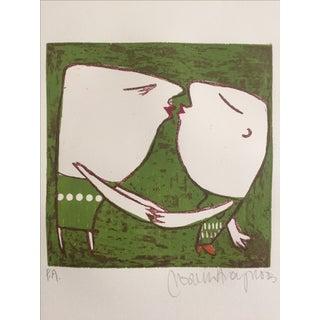 Original Artist's Print by Marina Anaya