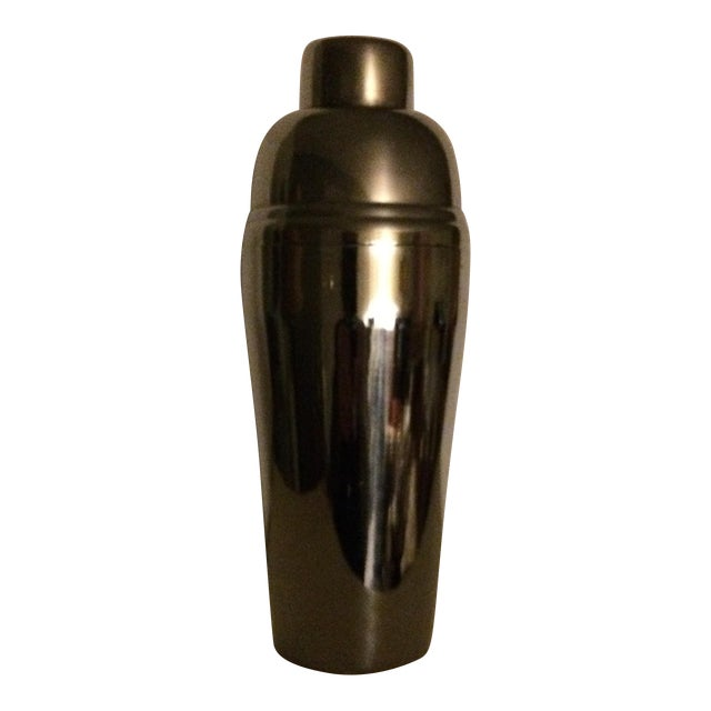 Mid-Century Stainless Steel 24 oz Cocktail Shaker - Image 1 of 10