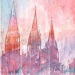 Image of Unity - 21 Lviv Original Watercolor Painting