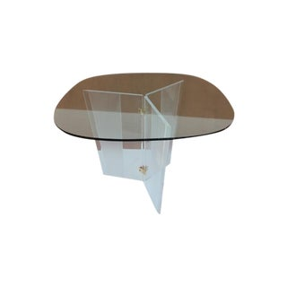 Mid-Century Modern Lucite Dining Table