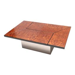 Rizzo Burl Bar Coffee Table