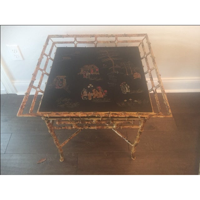 Vintage Chinoiserie Tables - A Pair - Image 9 of 10