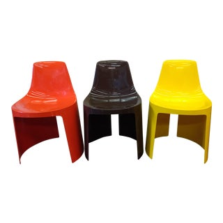 Vintage Overman Tango Chairs - Set of 3