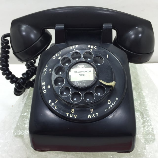 Black Western Electric 5302 Rotary Dial Telephone - Image 2 of 11