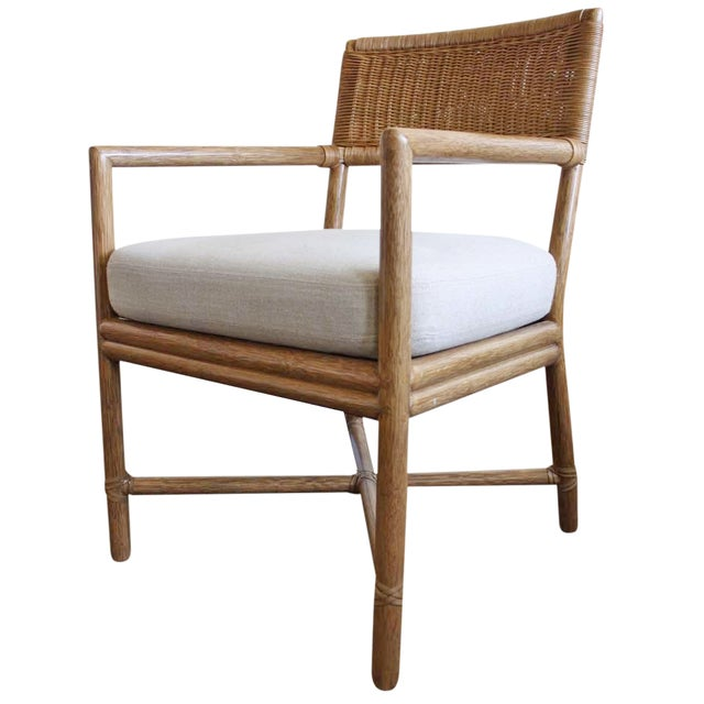 McGuire Dawson Chair in Pecan Finish - Image 1 of 6