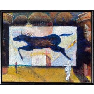 "Addison Robichaud ""Spirit Horse"" Painting"