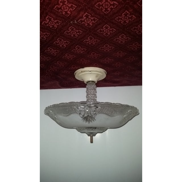 Victorian Style Chandelier Ceiling Fixture - Image 3 of 7