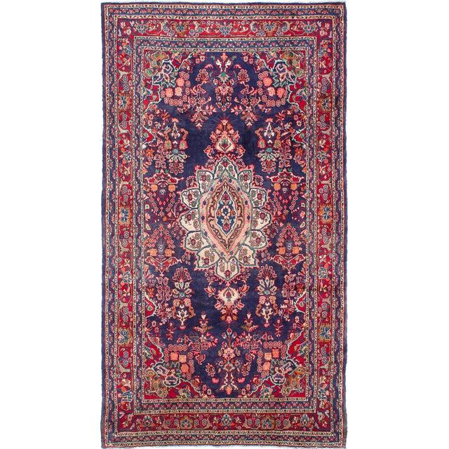 Image of Hamadan Vintage Persian Rug - 6′8″ × 12′2″