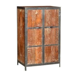 Teak & Iron Cabinet
