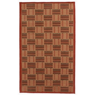 RugsinDallas Hand Knotted Wool Nepalese Rug - 5′ × 6′2″