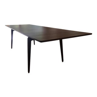 DWR Odin Walnut Rectangular Extension Table