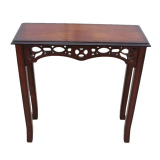 Transitional Wood Console Table