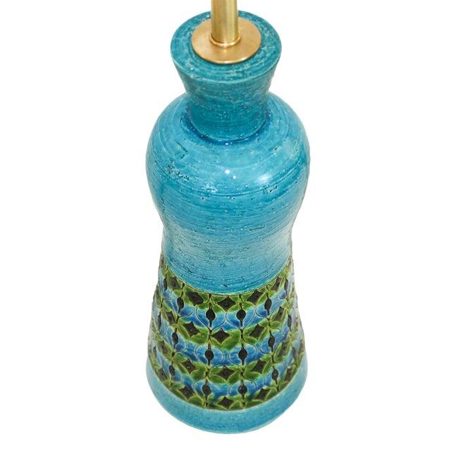 Bitossi Raymor Rimini Blue Pottery Lamp - Image 2 of 7