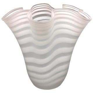 Huge A. Spirale Fazzaletto Vase