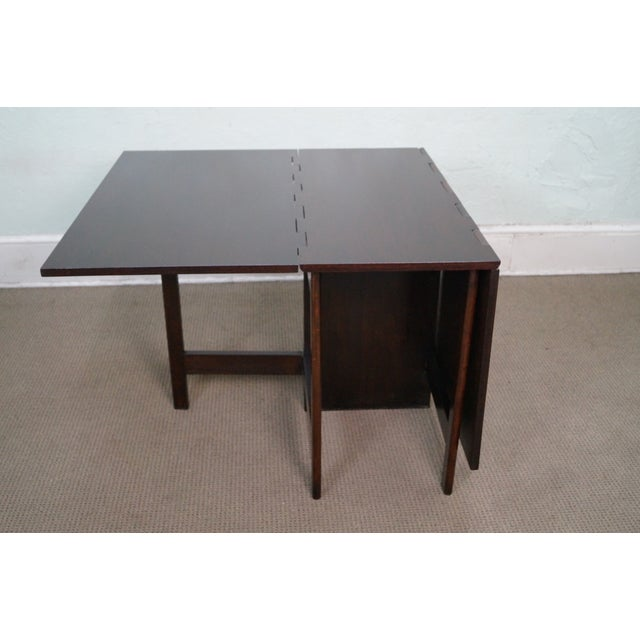 herman miller george nelson drop leaf dining table chairish. Black Bedroom Furniture Sets. Home Design Ideas