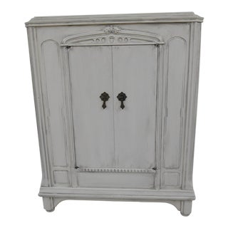 Hand Painted Storage Cabinet