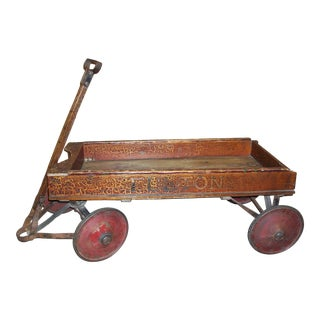 Antique Fulton Coaster Wagon