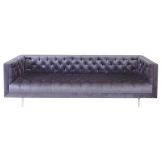 Modern Tufted Velvet Sofa