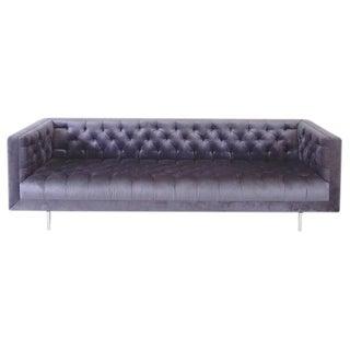 Modern Tufted Velvet Sofa
