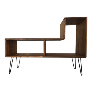 Mid-Century Modern Media Cabinet With Hairpin Legs