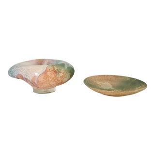 Evans Studio Pottery Bowls - A Pair