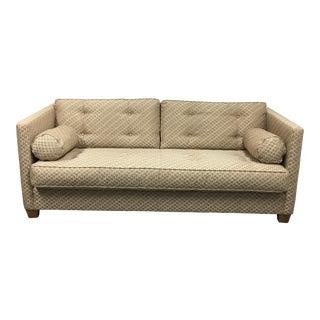 Crate & Barell Custom Fabric Sofa & Pillows