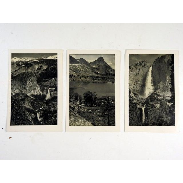 Vintage Yosemite Menus by Ansel Adams - Set of 3 - Image 2 of 4