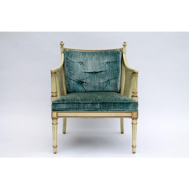 Image of Caned Accent Chair