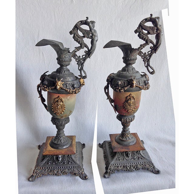 Vintage Classic Urns - A Pair - Image 2 of 6