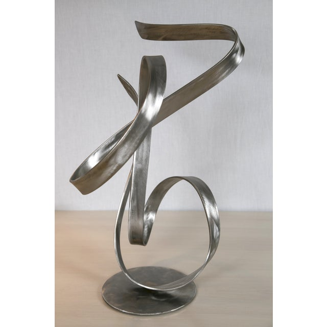 """Electric Wind"" Steel Sculpture by Joe Sorge - Image 4 of 10"