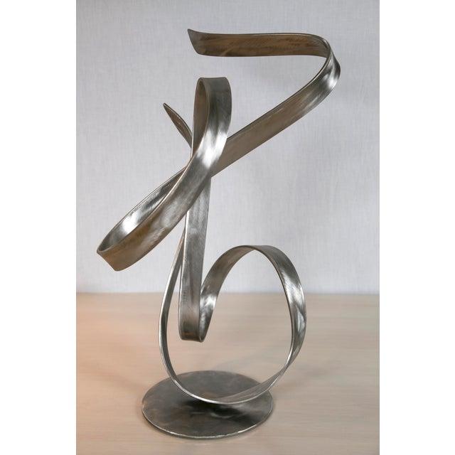 """Image of """"Electric Wind"""" Steel Sculpture by Joe Sorge"""