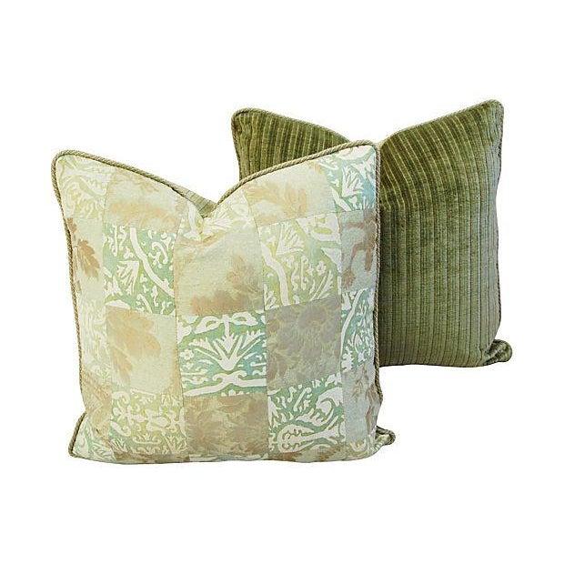 Fortuny Piazetta & Boucher Pillows - A Pair - Image 3 of 6