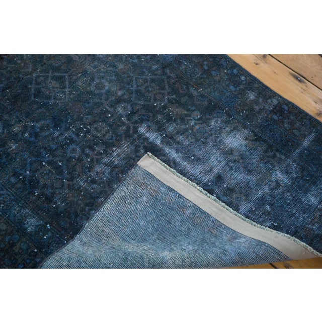 Image of Hand-Knotted Overdyed Runner Rug - 3' x 19'