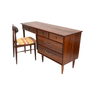 Solid Walnut Desk & Matching Chair by Prelude