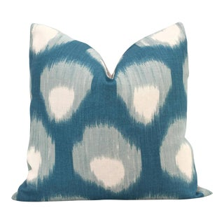 Peter Dunham Peacock Blue Bukhara Decorative Pillow Cover