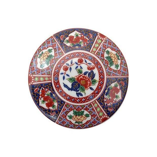 Image of Round Imari Porcelain Box