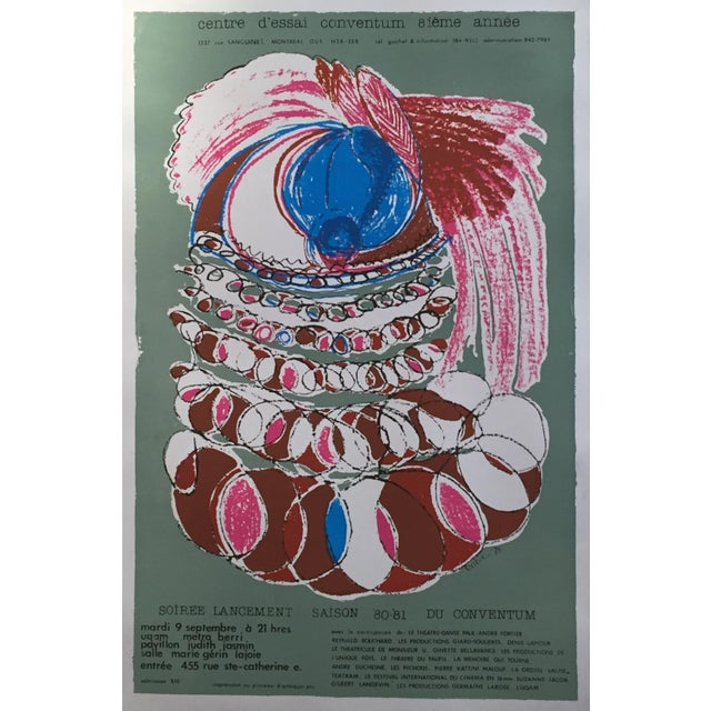 Vintage Conventum Music Poster - Image 2 of 5