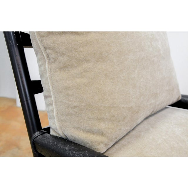 Transitional Mohair Side Chair - Image 5 of 6