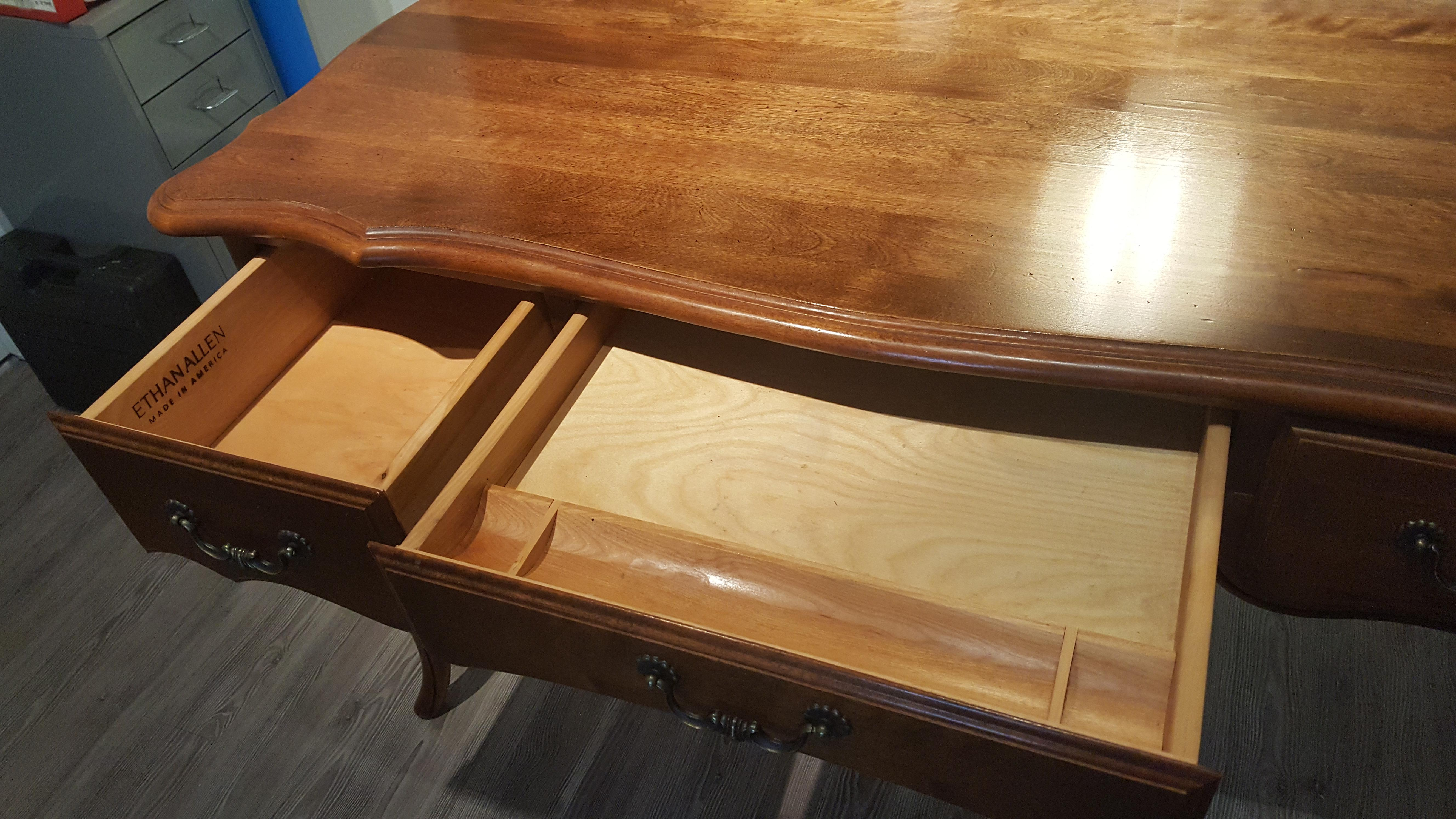 Ethan Allen Country French Desk Chairish