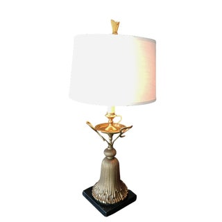 Chapman Hollywood Regency Tapestry Table Lamp