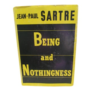 Being and Nothingness by Jean-Paul Sartre