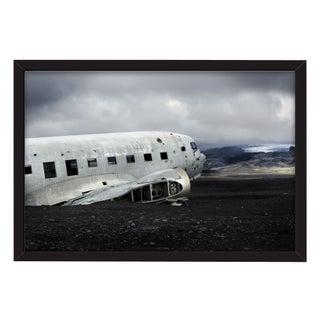 "Mike Kelley ""C-47 on Solheimasandur"" Framed Photo"